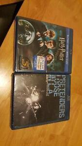 HARRY POTTER / PRETENDERS DVD'S