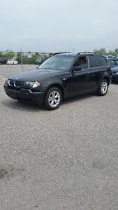 2004 BMW X3 2.5I, Alloys, roof rack, awd SUV, Crossover