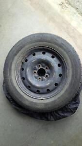 215/65 R16 winter tires with steel rims