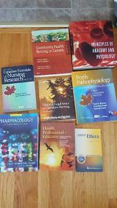 Nursing textbooks for sale! Prices vary!
