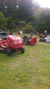 Mira bay Dr repair ,snowblower s ,lawnmowers,saw,etc.same day re