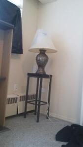 Bed lamp with stand for sale