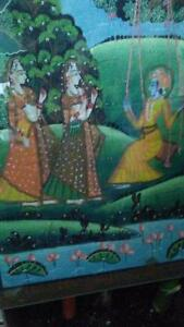 Hand painted Indian cloth