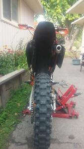 2002 Ktm 250 SX (XC GEARING) Good condition. Lots of extras. Peterborough Peterborough Area image 6
