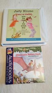 2 audio books for kids only$5 each