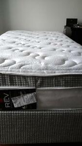 Sommex Single Mattress w/ Boxspring and Frame