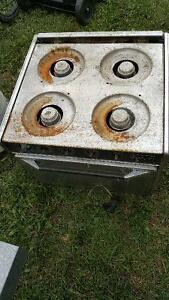 travel trailer stove