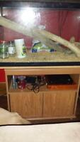 fish tank and stand base
