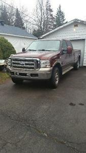 2006 Ford F-250 King ranch cuire toit ouvrant Camionnette