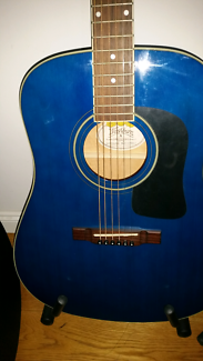 Washburn  accoustic with electric pickup
