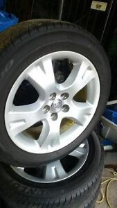 Mint rims and tires