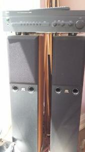 Monitor Audio speakers-bronze series with NAD Pre amplifier