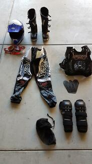 Dirt bike racing gear new and used