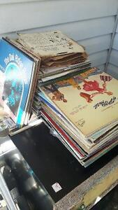 GIANT LOT OF ASSORTED RECORDS