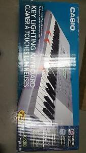 casio Keyboard and books in excellent condition.