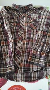 2 Western wrangler cowboy shirts for Sale in mint con