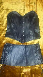 Dreamgirl Spandex corset & mini skirt Paralowie Salisbury Area Preview