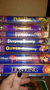 Disney VHS - Masterpiece collection