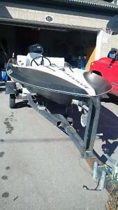 trailer motor and checkmate boat
