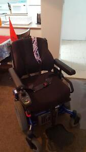 Quickie  electric wheelchair