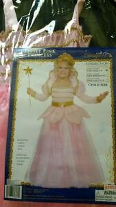 Little pink princess costume size 4-6