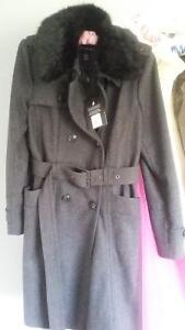 new with tags London fog wool car coat med