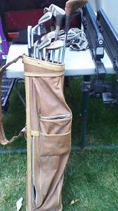 GOLF CLUBS AND CARRY BAG Stratford Kitchener Area image 7