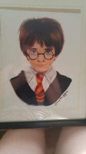 Framed Harry Potter Drawing