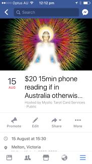 Psychic- Belladonna Psychic Tarot Card Services
