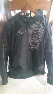 Men's Large Harley Davidson Motorcycle Jacket