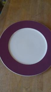 Villeroy and Bosch bone china set of 8 large plates
