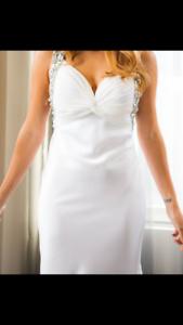 Designer wedding dress - size 10-12 Elsternwick Glen Eira Area Preview