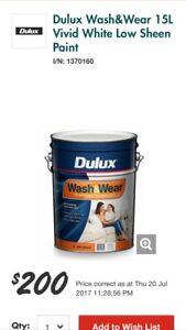Dulux wash & wear - bargain Beechboro Swan Area Preview