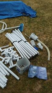 Parts for 18' Round Intex Pool