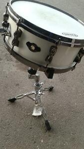 new Tama superstar snare drum and stand