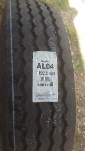 Two   11r x22.5 tires new