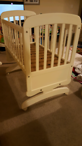 Childcare Lullabye Rocking Cradle/Cot Plympton West Torrens Area Preview