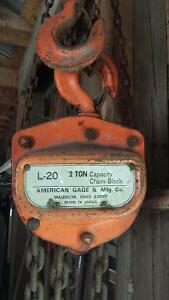 L-20 2 Ton chain block
