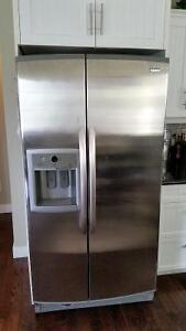 Kenmore side by side fridge/freezer