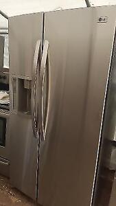LG Stainless Steel French Door/ Side By Side Fridge