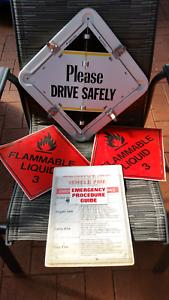 14 leaf dangerous goods signs Paradise Campbelltown Area Preview