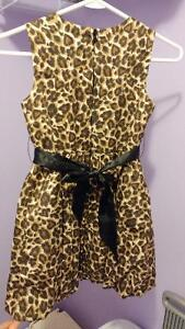 Size 8 lepard print dress Cambridge Kitchener Area image 2