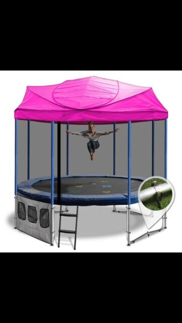 Pink 14ft tr&oline roof / cover / tent | Toys - Outdoor | Gumtree Australia Sutherland Area - Heathcote | 1155458154 & Pink 14ft trampoline roof / cover / tent | Toys - Outdoor ...