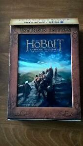 The Hobbit: An Unexpected Journey 5-disc DVD Extended Edition
