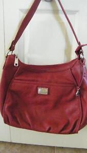 Red Grace Adele Leather Purse