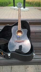 Fender Acoustic Guitar with amp plug