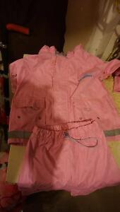 Girls Splash Suit and rubber boots