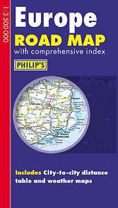 Philip039s Europe Road Map Philip039s Road Maps Philip039s New Book - Hereford, United Kingdom - Philip039s Europe Road Map Philip039s Road Maps Philip039s New Book - Hereford, United Kingdom