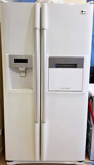 LG Fridge – Side-by-side, Drinks bar, Water and Ice