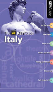 AA Key Guide Italy by AA Publishing (Paperback, 2004)